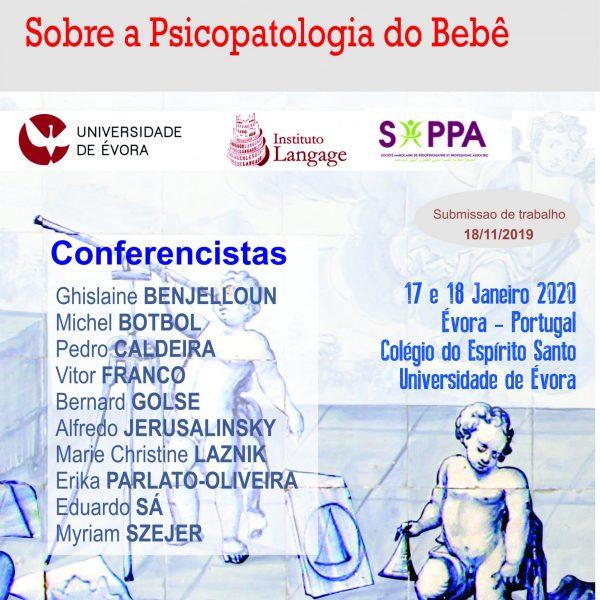 Taxa de Inscrição para Estudantes de Graduação - 2° Congresso Transdisciplinar sobre a Psicopatologia do Bebé (Evora 2020)
