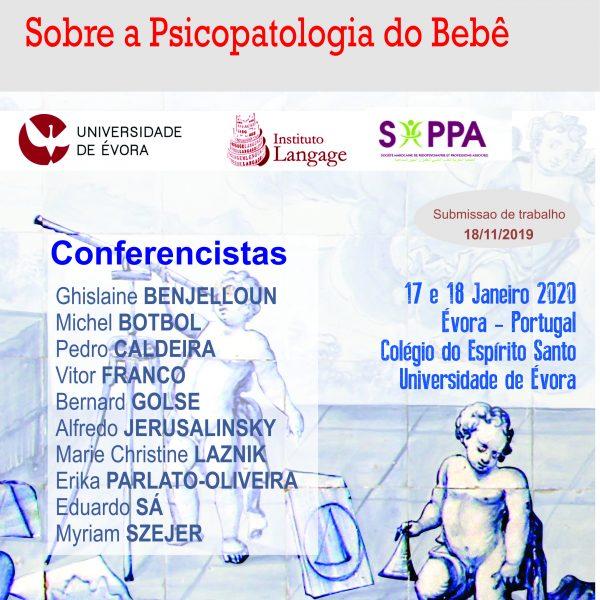Taxa de Inscrição Profissionais - 2° Congresso Transdisciplinar sobre a Psicopatologia do Bebé (Evora 2020)